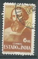 Inde Portugaise YT N°400 Garcia De Orta Oblitéré ° - India Portoghese