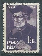 Inde Portugaise YT N°408 Père Jose Vaz Oblitéré ° - India Portoghese