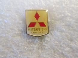 PIN'S      LOGO   MITSUBISHI  MOTORS - Mitsubishi