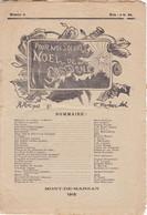 Journal Gascon Destiné Aux Soldats De Mont De Marsan -  Noël 1915 - Documentos