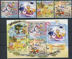 MWD-BK6-475 MINT PF/MNH ¤ HONG KONG  2005 KOMPL. SET  ¤ THE WORLD OF WALT DISNEY -- FRIENDS OF WALT DISNEY - Disney