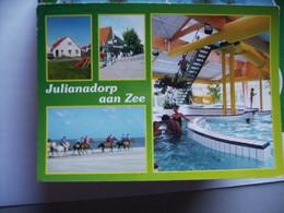 Nederland Holland Pays Bas Julianadorp Met Zwembad En Paarden - Other