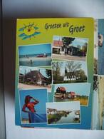 Nederland Holland Pays Bas Groet Bij Camperduin Met Bezienswaardigheden - Other