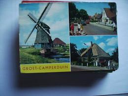 Nederland Holland Pays Bas Groet En Camperduin Met Tractor En Melkbussen - Other