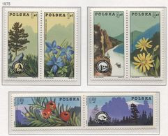 Poland 1975 Mi 2370-75 Polish Mountain Leadership, Guide, Nature, Flowers, Plants, Fruits, Landscape, Full Set  MNH** - Agriculture