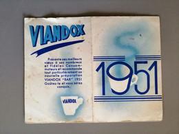 Petit Calendrier Viandox 1951 - Small : 1941-60