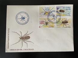 Cape Kap Verde Cabo Verde 2001 Mi. 788 - 791 FDC Aranha Spider Spinnen Araignées Insects Insectes Insekten - Spinnen