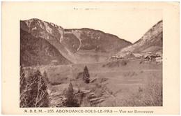 74 ABONDANCE-sour-le-PAS - Vue Sur Bonnevaux - Other Municipalities