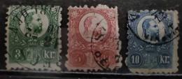 HONGRIE- 1871 - N° 8/10 O (voir Scan) - Usati