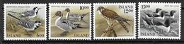 Islande 1986 N° 597/600 Neufs Oiseaux - Ungebraucht