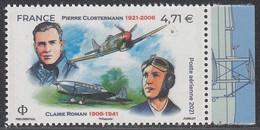 2021 Clostermann Et Roman Tiré Du Feuillet ** - 1960-.... Mint/hinged