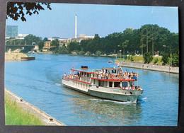 Lällekönig Personenboot Einfahrt In Schleuse Birsfelden/ Scan Beachten - BL Basle-Country