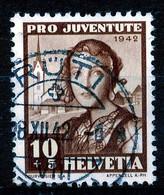 "HELVETIA - Mi Nr 412 - ""RÜTI"" - (ref. 3138) - Used Stamps"