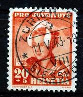 """HELVETIA - Mi Nr 413 - """"ZURICH - GIESSHÜBEL"""" - (ref. 3140) - Used Stamps"""