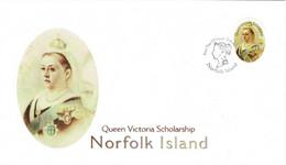 Norfolk Island 2007 Queen Victoria Scholarship $5 FDC - Norfolk Island