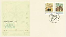 Norfolk Island 2017 Convict Heritage FDC - Norfolk Island