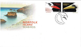 Norfolk Island 2016 Seabirds FDC - Norfolk Island