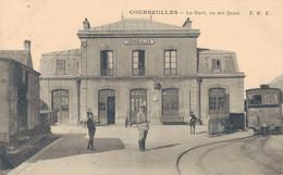 K17 - 14 - COURSEULLES - Calvados - La Gare, Vu Des Quais - Courseulles-sur-Mer