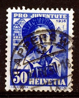 "HELVETIA - Mi Nr 309 - ""RAPPERSWIL"" - Cote 36,00 € - (ref. 3149) - Used Stamps"