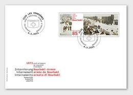 Switzerland 2021 - 150 Years Internment Of Bourbaki's Army FDC - Nuevos