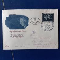 AUTRICHE 809 PREMIER JOUR 26.1.52 WIEN - 1945-60 Briefe U. Dokumente