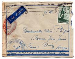 Enveloppe / Maroc / De Casablanca / Censure - Briefe U. Dokumente