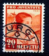"""HELVETIA - Mi Nr 401 - """"TURGI"""" - (ref. 3154) - Used Stamps"""