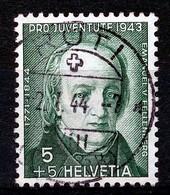 "HELVETIA - Mi Nr 424 - ""RÜTI"" - (ref. 3158) - Used Stamps"
