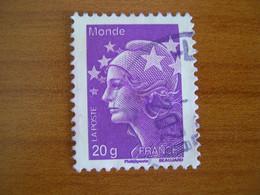 France  Obl  N° 4568 Cachet Rond Noir - 2008-13 Marianne Of Beaujard