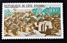 VILLAGE SENOUFO 1968 - NEUF ** - YT PA 39 - MI 321 - Ivory Coast (1960-...)