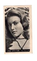"11924 "" LINDA CHRISTIAN "" METRO GOLDWYN MAYER-STAR-PHOTO N° 37 - Unclassified"