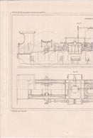CHEMIN DE FER (LOCOMOTIVES ET LOCOMOTIVES ROUTIERES ) LOCOMOTIVE PAR M.SAINT DIZIER A VOIR !!! REF 70828 - Other Plans
