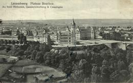 2,30€ - LUXEMBOURG - VILLE, Plateau Bourbon, Au Fond HOLLERICH, GASPERICHERBERG & CESSINGEN, HOUSTRAAS - 1914 - Lussemburgo - Città