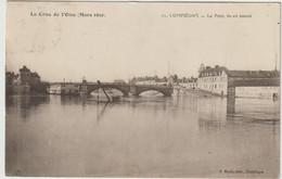 11. COMPIEGNE  - Le Pont, Vu En Amont   La Crue De L'Oise (Mars 1910) - Compiegne