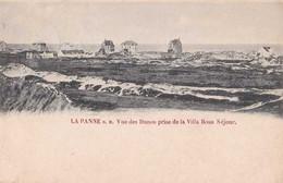 De Panne - La Panne - Vue Des Dunes Près De La Villa Beau Séjour - Circulé En 1901 - Dos Non Séparé - TBE - De Panne