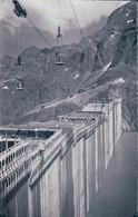 Barrage De La Grande Dixence En Construction VS (3889) 1 Angle Endommagé - VS Valais