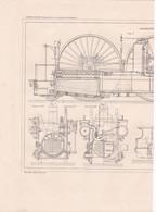 CHEMIN DE FER (LOCOMOTIVES ET LOCOMOTIVES ROUTIERES ) LOCOMOTIVE PAR M.SAINT DIZIER A VOIR !!! REF 70830 - Other Plans