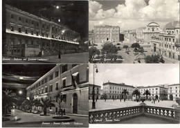 SASSARI (SARDEGNA) - 4 CARTOLINE Di  BROMOFOTO No. 113-124-168-311 - Piazze Della Città E Palazzo Del Governo - Sassari