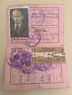Szabadka Subotica -  Railway Membership Ticket And Monthly Ticket  1958 -  Yugoslavia - Europe