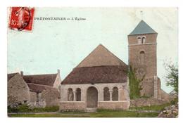 CPA Ed Lassalle  Préfontaines  L'église - Altri Comuni