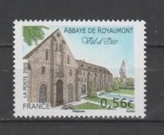 FRANCE / 2009 / Y&T N° 4392 ** : Abbatiale De Royaumont (Val-d'Oise) X 1 - Nuevos