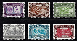 New Zealand 1989 Heritage - The People Set Of 6 MNH - Ungebraucht