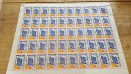 LOT539352 TIMBRE DE FRANCE NEUF** LUXE N°34 SERVICE FEUILLE - Volledige Vellen
