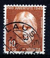 "HELVETIA - Mi Nr 466 - ""LAUSEN"" - (ref. 3178) - Used Stamps"