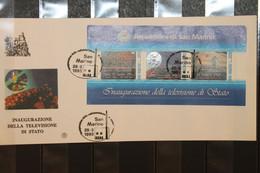 San Marino, Hologramm, Hologrammblock Television 1993, FDC - Holograms