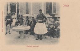 Montenegro - Cetinje - Cettignè - Costumi Nazionali - F. Piccolo - Nuova - Molto Bella - Montenegro