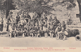 Montenegro - Cetinje - Cettignè - Eroi Di Grachovaz 1858 - F. Piccolo - Nuova - Splendida - Montenegro