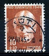"HELVETIA - Mi Nr 466 - ""RÜTI"" - (ref. 3182) - Used Stamps"
