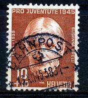 "HELVETIA - Mi Nr 466 - ""BAHNPOST"" - (ref. 3184) - Used Stamps"