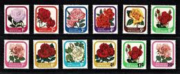 New Zealand 1975 Flowers Set Of 9 + 3 Overprints MNH - Ungebraucht
